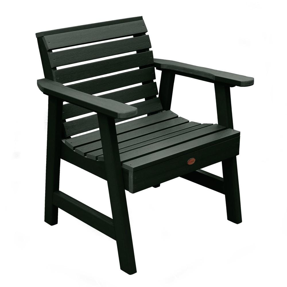 Weatherly Garden Chair Charleston Green - Highwood