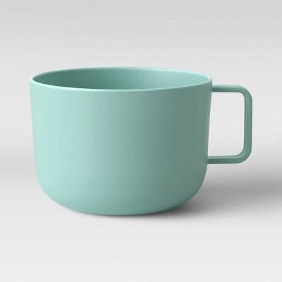 30oz Plastic Soup Mug Aqua - Room Essentials™
