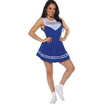 Adult Cheer Blue Halloween Costume