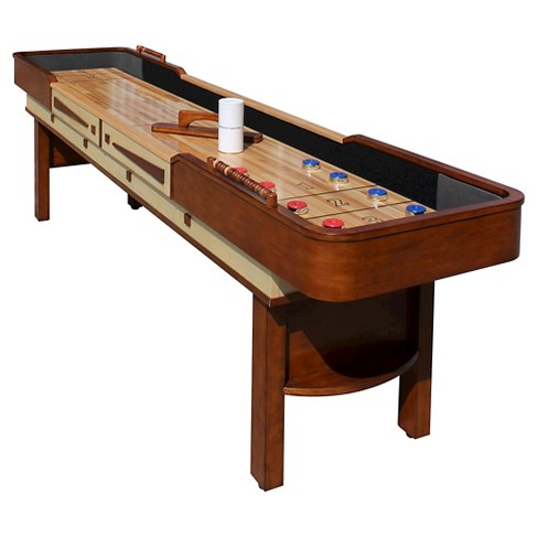 Hathaway Merlot Shuffleboard Table - image 1 of 6