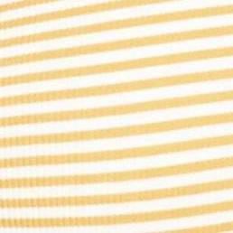 White Orange Stripe