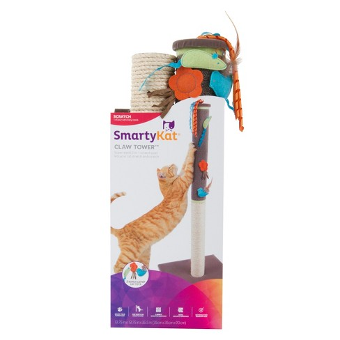 SmartyKat Claw Tower Pet Scratch Center - image 1 of 1