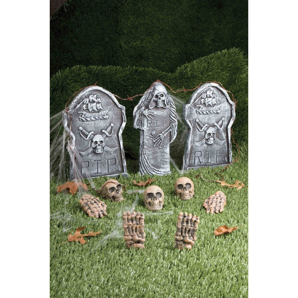 Image of Halloween Cemetery Kit- 12ct