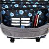 J World Thomas Laptop Messenger Bag - Night Bloom - image 4 of 4