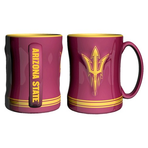 NCAA Arizona State Sun Devils Boelter Brands 2 Pack Sculpted Relief Style Coffee Mug - Red (15 oz) - image 1 of 1