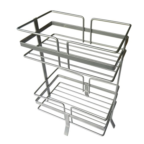 """Shower Caddy Silver 12"""" - Elegant Home Fashions - image 1 of 2"""