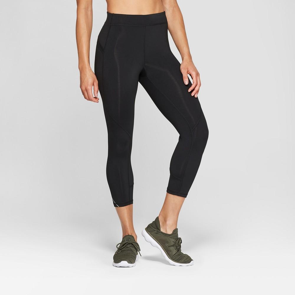 Women's Running Mid-Rise Capri Leggings 20 - C9 Champion Black M