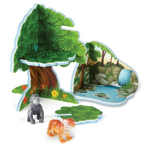 Learning Resources Jumbo Jungle Playset - image 1 of 4