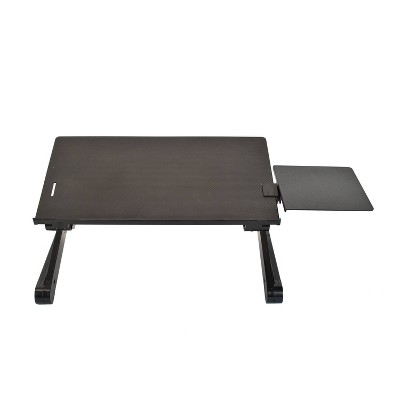 Workez Adjustable Laptop Stand & Lap Desk Black - Uncaged Ergonomics