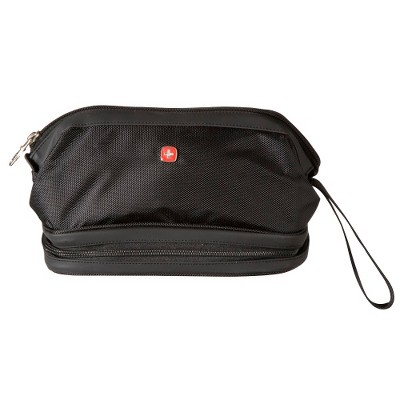 SWISSGEAR Deluxe Travel Dopp Kit - Black