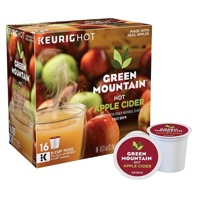 Green Mountain Hot Apple Cider K-Cup Pods - 16ct