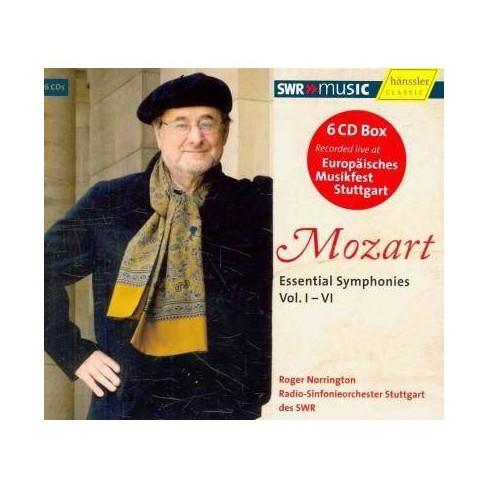 Stuttgart Radio Symphony Orchestra - Mozart: Essential Symphonies, Vol I-VI (CD) - image 1 of 1