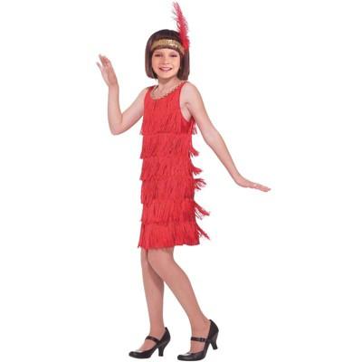 Forum Novelties Red Flapper Child Costume