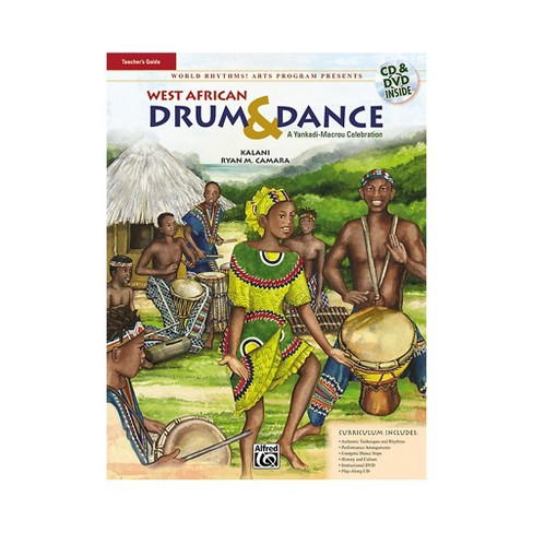 Alfred West African Drum & Dance (A Yankadi-Macrou Celebration) Teacher's Guide (Book/DVD/CD) - image 1 of 1