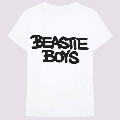 Men's Beastie Boys Short Sleeve Graphic T-Shirt - White - image 1 of 1