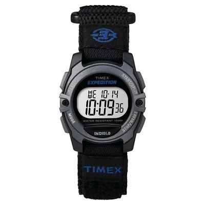Timex Expedition Digital Watch with Fast Wrap Nylon Strap - Black TW4B024009J