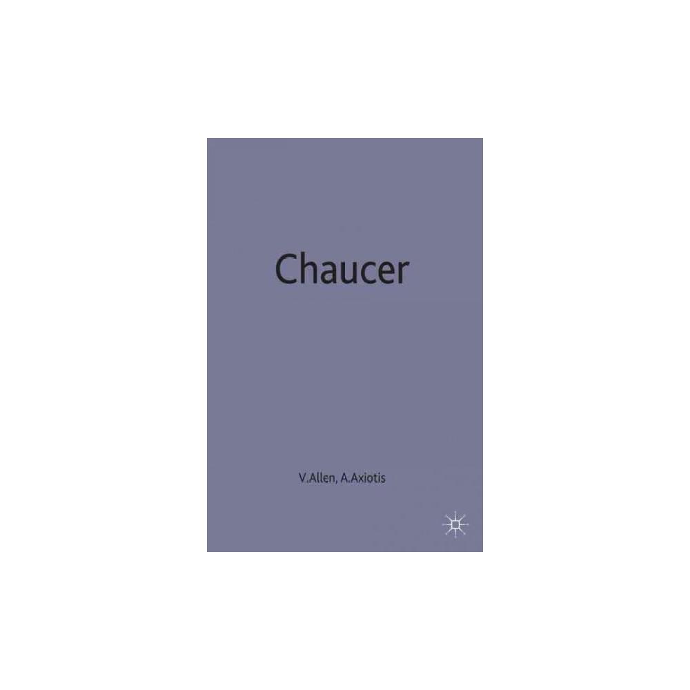 Chaucer : Contemporary Critical Essays (Paperback)