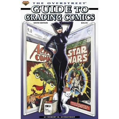 The Overstreet Guide to Grading Comics Sixth Edition Softcover - by  Robert M Overstreet (Paperback)