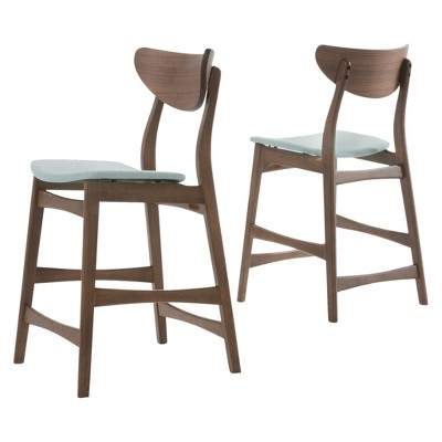 "Set of 2 24"" Gavin Counter Height Barstool - Christopher Knight Home"