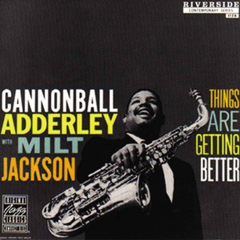 Cannonball Adderley - Things Are Getting Better (Vinyl) - image 1 of 1