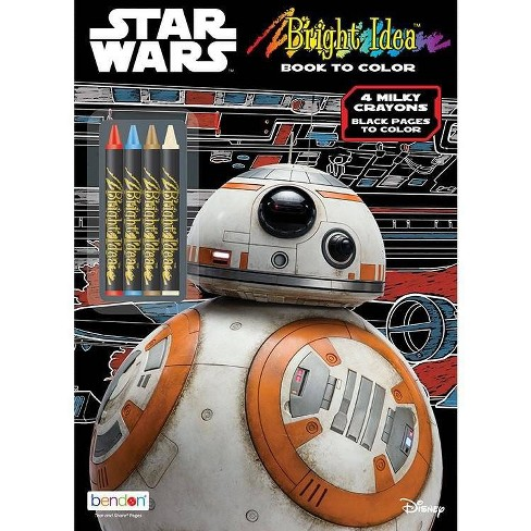 Bright Idea Book w/Crayons Star Wars - image 1 of 2