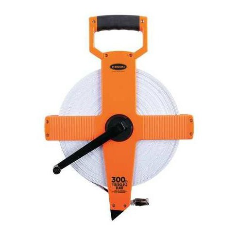"KESON OTR-18-300 300 ft. Long Tape Measure, 1/2"" Blade, Pumpkin - image 1 of 1"
