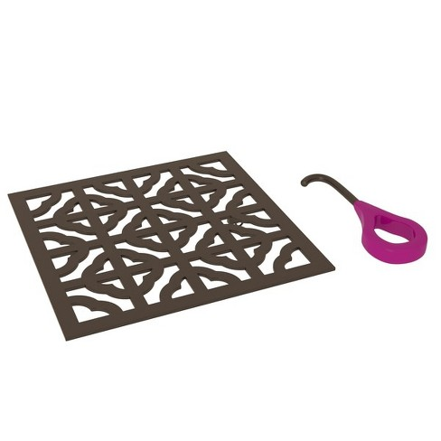 "Rohl DC3146 5"" x 5"" Stainless Steel Drain Cover - image 1 of 1"