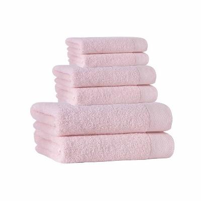 6pc Signature Turkish Cotton Bath Towel Set - Enchante Home