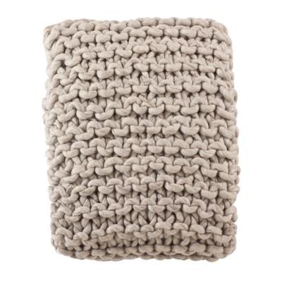Throw Blankets Saro Lifestyle 50X60  Inches Khaki