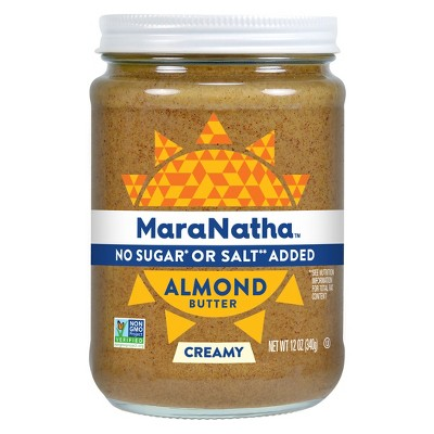 Maranatha No Added Sugar or Salt No Stir Almond Butter - 12oz