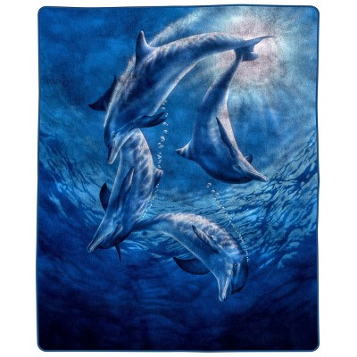 Pattern Heavy and Thick Plush Mink Throw Blanket - Trademark Global