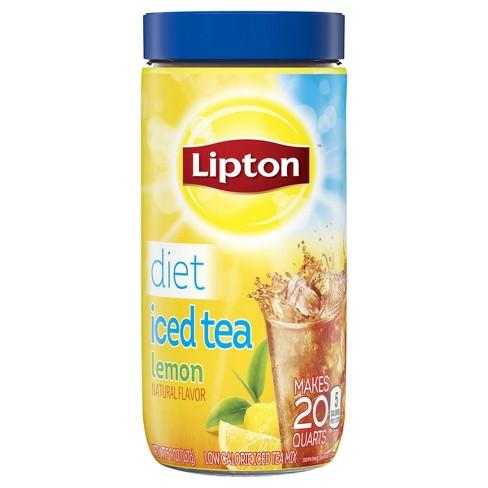 Lipton Diet Lemon Iced Tea Mix - 20qt