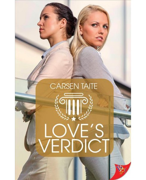 Love's Verdict -  by Carsen Taite (Paperback) - image 1 of 1