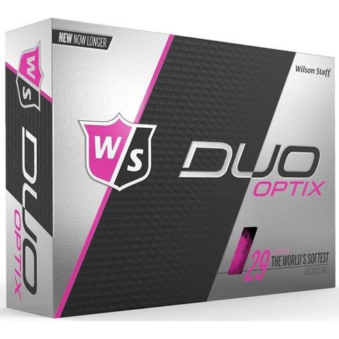 Wilson Staff Duo Soft Optix Pink Golf Balls - image 1 of 1