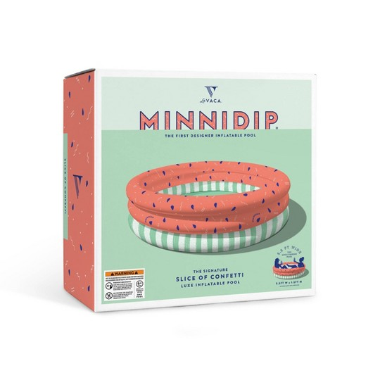Minnidip Slice of Confetti Kiddie Pool image number null