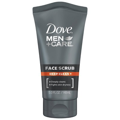 Facial Cleanser: Dove Men+Care Face Scrub Deep Clean
