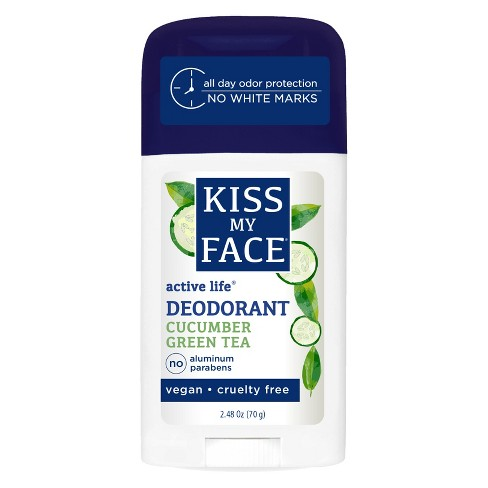 Kiss My Face Active Life Cucumber Green Tea Stick Deodorant 2.48oz - image 1 of 1