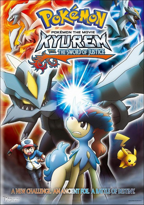 Pokemon the Movie: Kyurem vs. the Sword of Justice (dvd_video) - image 1 of 1
