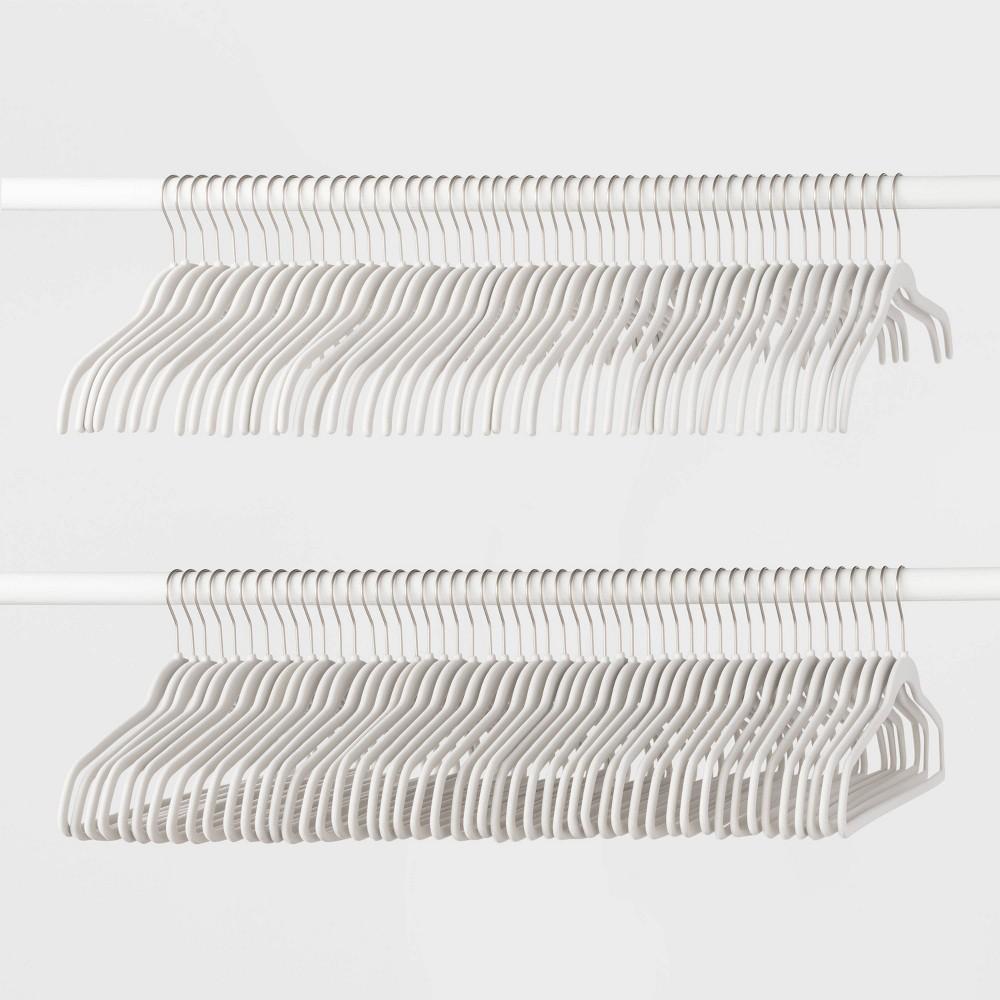 Image of 100pk Combo Hanger Suit/Shirt Hanger White - Made By Design