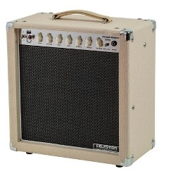 Monoprice 15-Watt, 1x12 Guitar Combo Tube Amplifier with Celestion Speaker and Spring Reverb