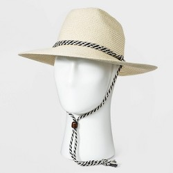 Men's Straw Lifeguard Hat - Goodfellow & Co™ Natural White