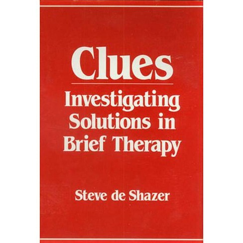 Clues - by  Steve de Shazer (Paperback) - image 1 of 1