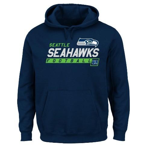 new products f0bf3 d142a Seattle Seahawks Men's Big & Tall Team Pride Fleece Pullover Hoodie  Sweatshirt - 3XL Tall