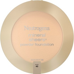 Neutrogena Mineral Sheers Compact Powder - 40 Nude, Nude 40