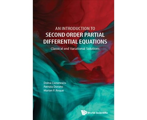 Introduction to Second Order Partial Differential Equations -  (Hardcover) - image 1 of 1