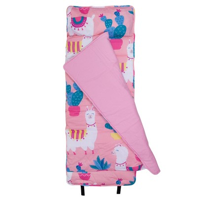Wildkin Llamas and Cactus Pink Original Nap Mat