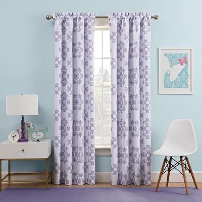 Lavender Ipanema Blackout Curtain (42 x63 )- Waverly Kids