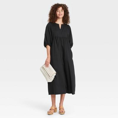 Women's Balloon Long Sleeve Dress - Universal Thread™