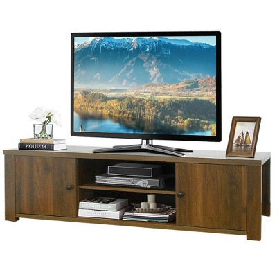 Costway TV Stand for TV's Up to 65''  w/Storage Cabinets & Shelves