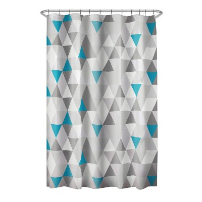 Vertex PEVA Shower Curtain Gray - Zenna Home